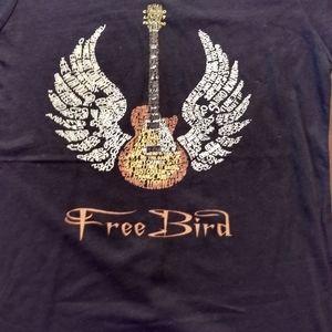 Free Bird Guitar 🎸 Women's tee